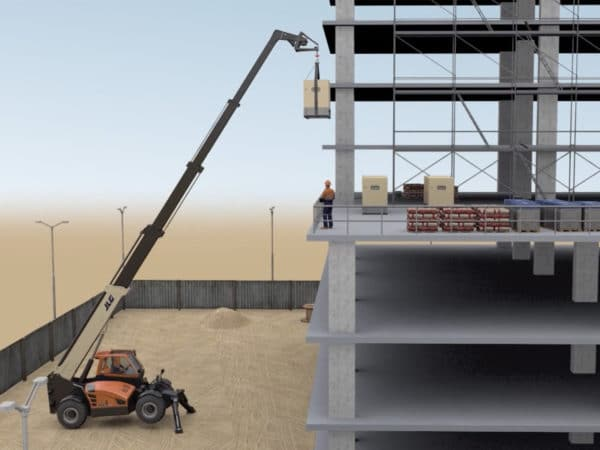 jlg 1075 telehandler application