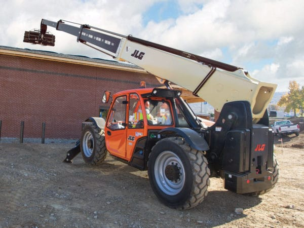 jlg 1255 telehandler application