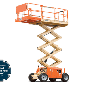 jlg 260mrt engine powered scissor lift