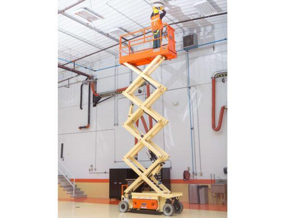 jlg 2632es electric scissor lift maintenance application