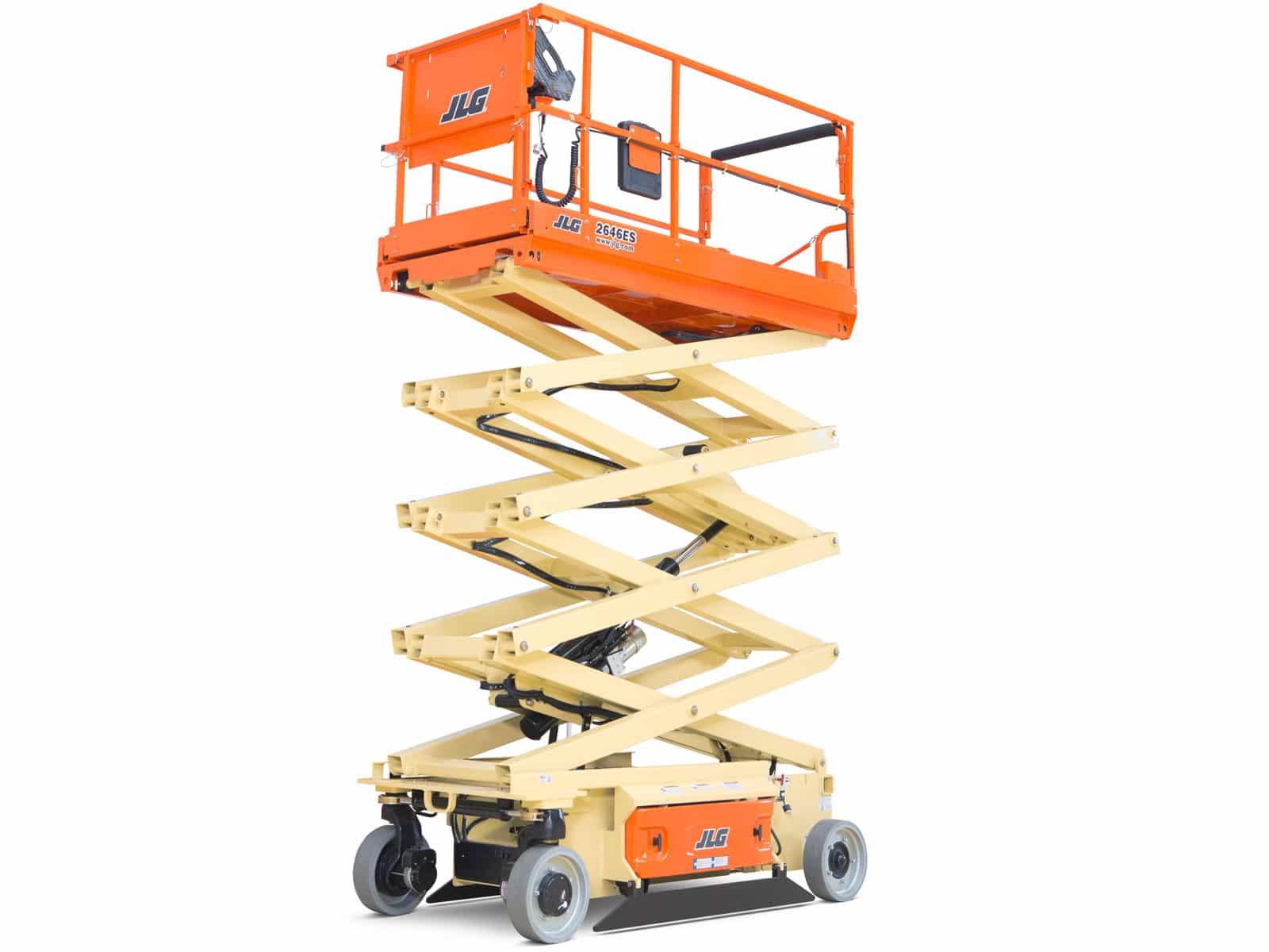 jlg es series electric scissor lifts » welch equipment  welch equipment