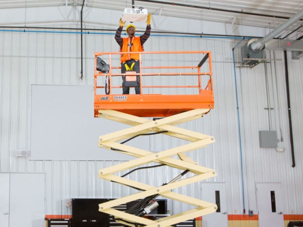 jlg 2646es electric scissor lift maintenance application