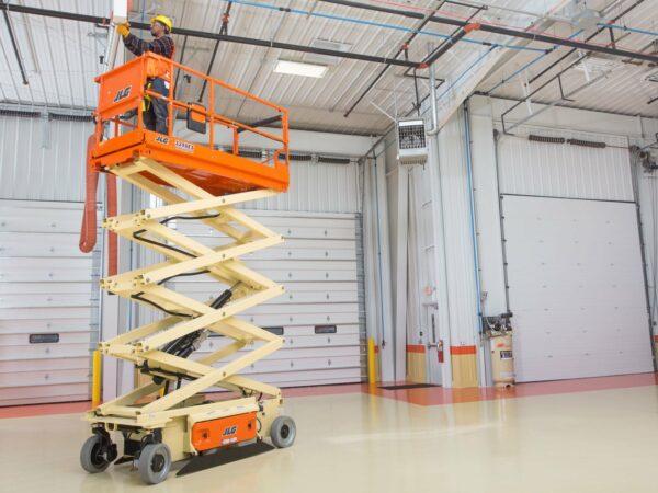 jlg 3246es electric scissor lift maintenance application