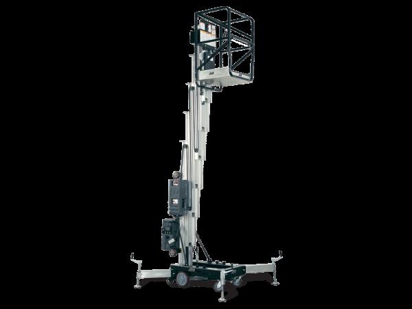 jlg push around vertical lift