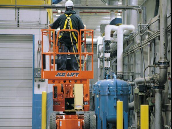 jlg e300aj articulating boom lift