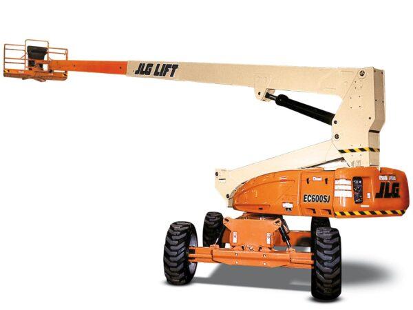 jlg ec600sj telescopic boom lift