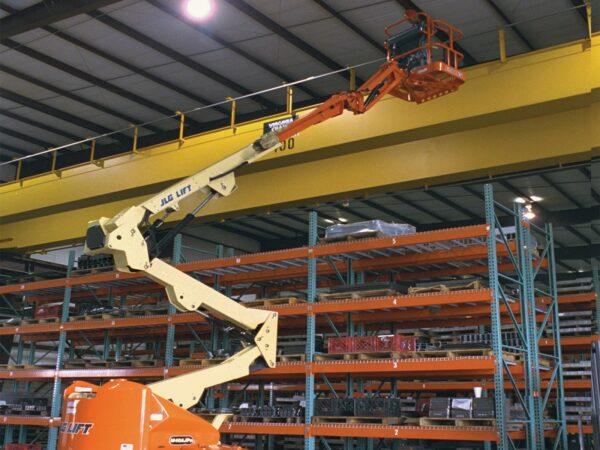 jlg m400ajpn articulating boom lift application