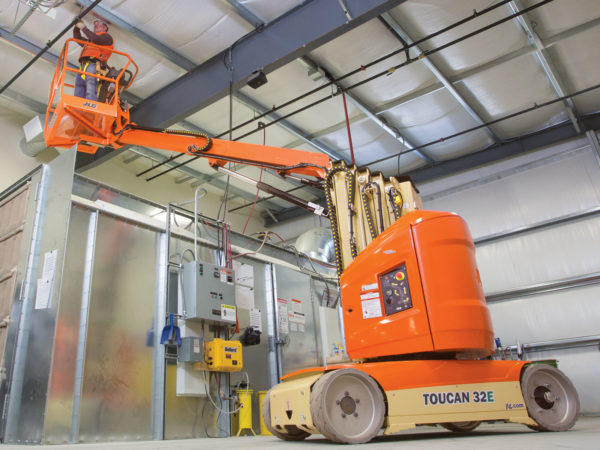 jlg 32e toucan mast boom lift maintenance application
