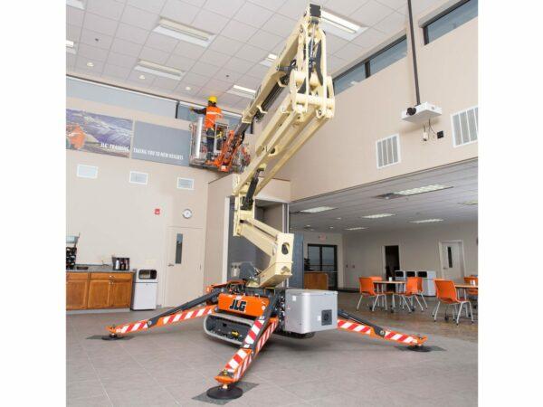 jlg x500aj compact crawler boom lift maintenance application