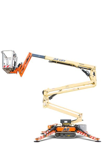 jlg x500aj compact crawler boom lift