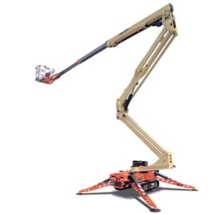 jlg x600aj compact crawler boom