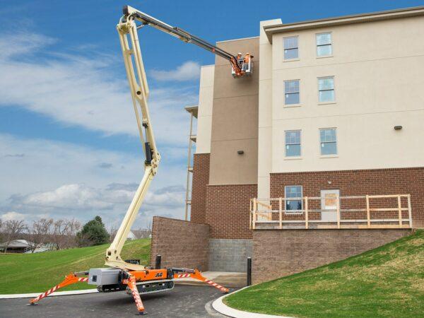 jlg x770aj compact crawler boom lift outdoor application