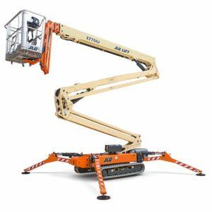 jlg x770aj compact crawler boom lift