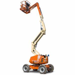 jlg h340aj hybrid articulating boom lift