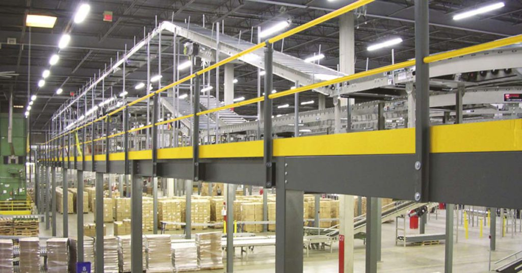 Warehouse Mezzanine Systems » Colorado Springs 1