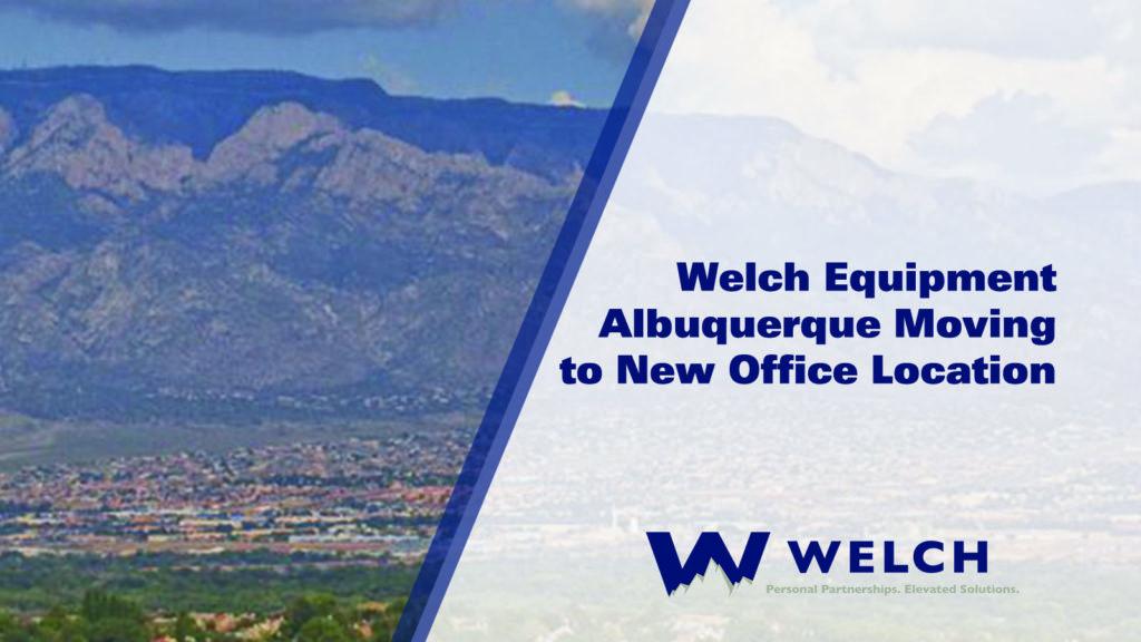 welch equipment albuquerque new mexico