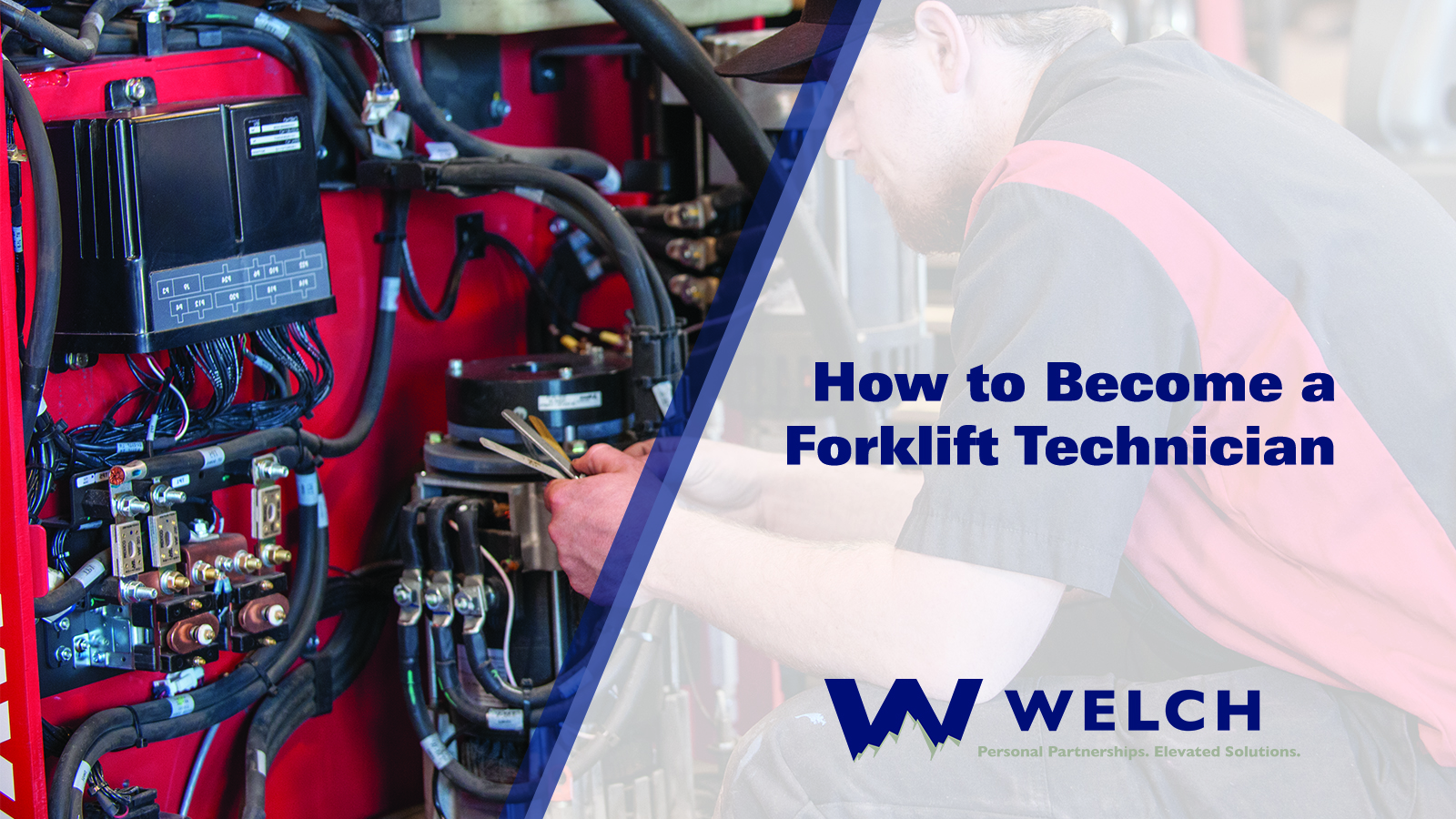 how to become a forklift technician