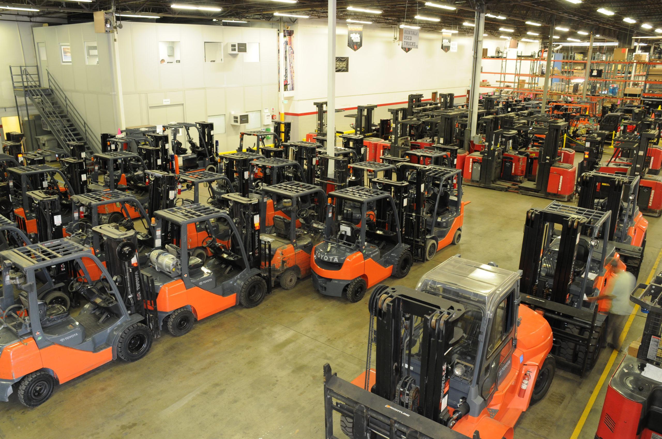 welch equipment forklift rental