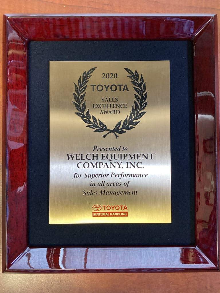 toyota sales excellence award