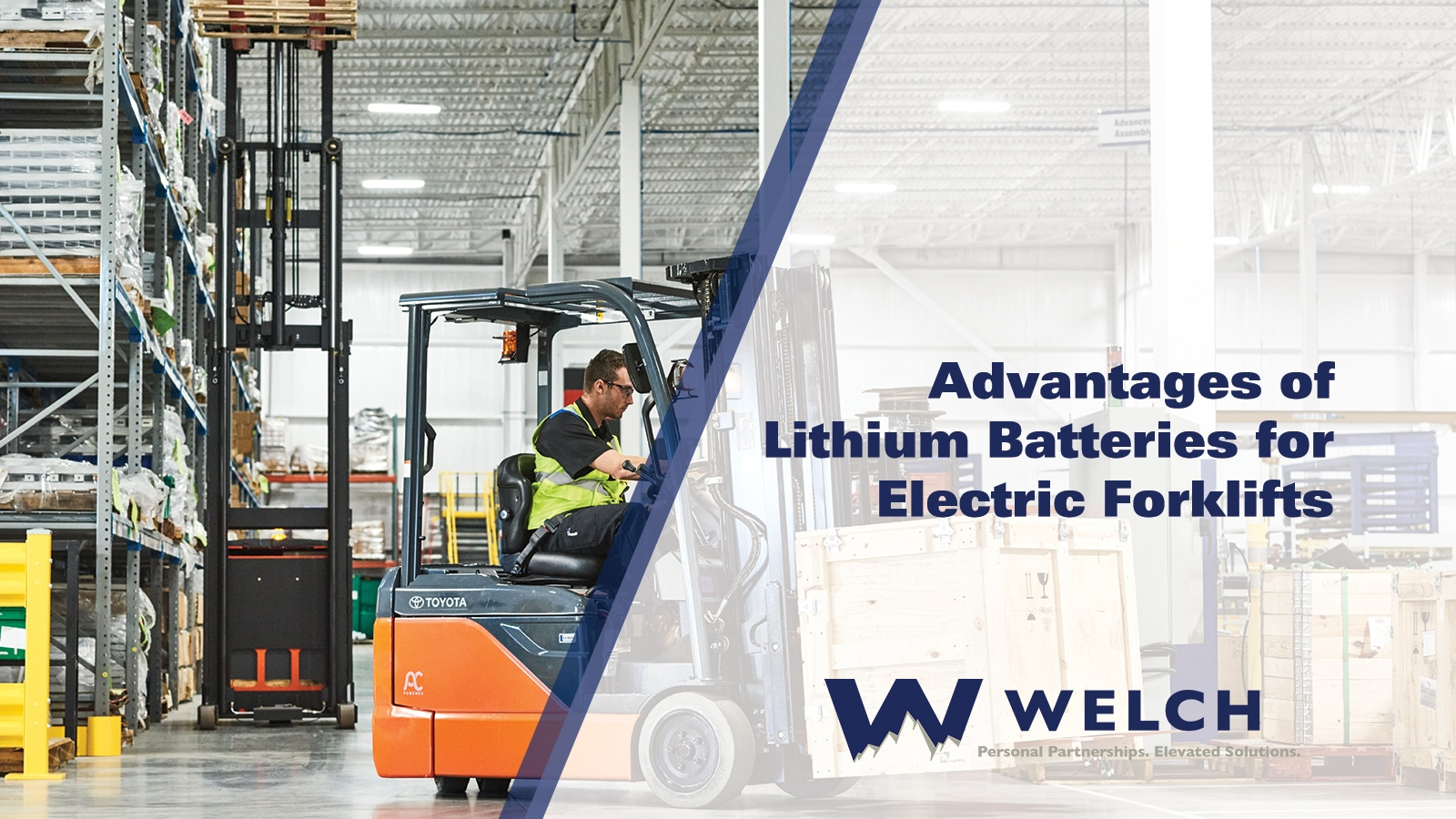 advantages of lithium batteries for electric forklifts