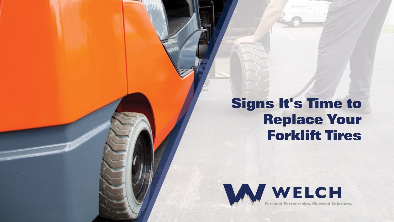 signs it's time to replace your forklift tires
